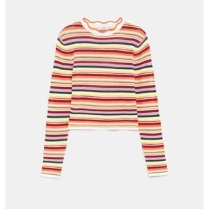 ZARA stripped Knit